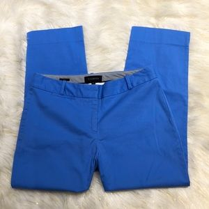 Talbots Blue Curvy Pants 8